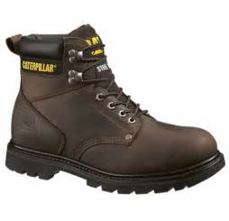 cat steel toe boots cat caterpillar black second shift steel toe work boot