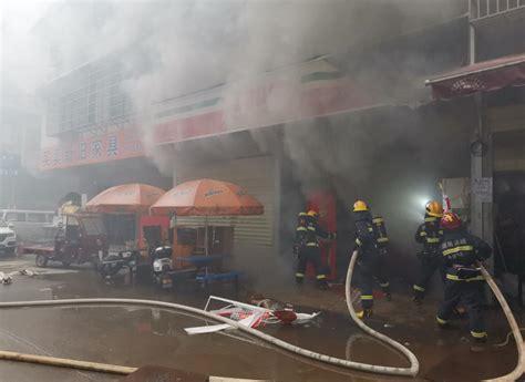 长沙梅溪湖一超市突发大火,消防成功营救7名被困人员 - 三湘万象 - 湖南在线 - 华声在线