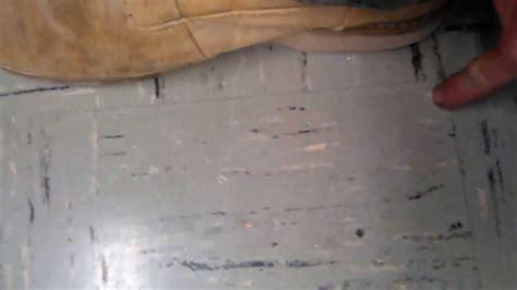 caution asbestos tiles youtube