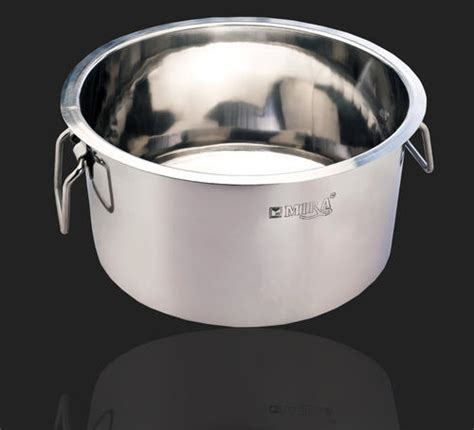 mira steel llp mumbai manufacturer  stainless steel topes stockpots  counters