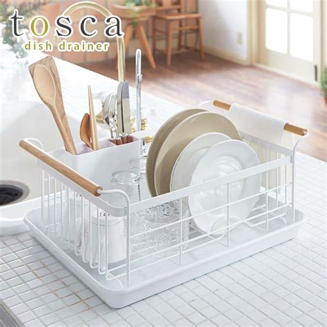 Kitchen Drainer Basket by Smart Kitchen Tosca Dish Drainer Basket Tosca Rakuten