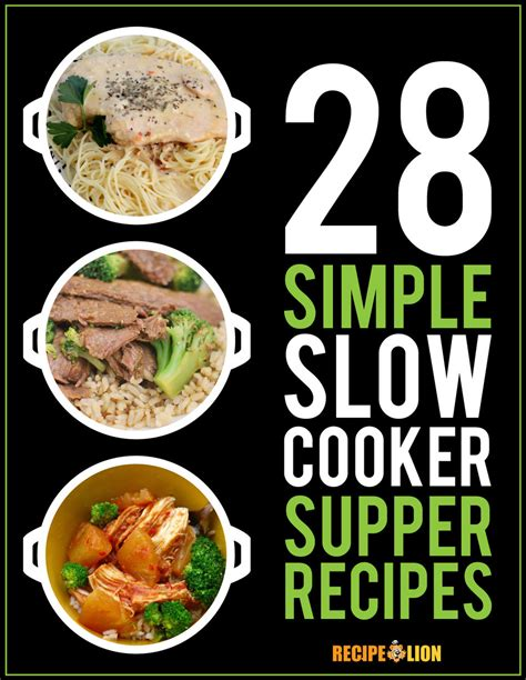 pit 28 reset recioes 28 simple cooker suppers free ecookbook recipelion