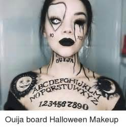 Ouija Board Halloween Makeup