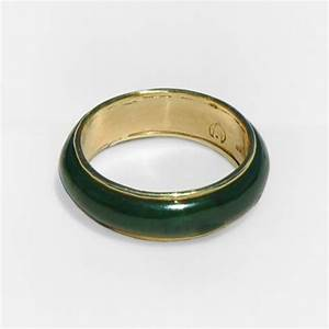 Pounamu greenstone ring greenstone new zealand for Jade wedding ring