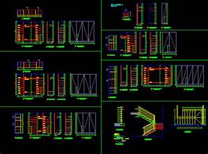 Closets of Different Size 2D DWG Detail for AutoCAD