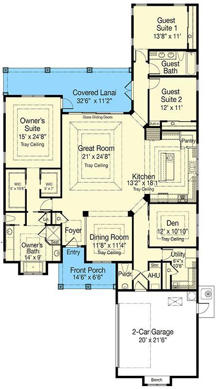 bed energy efficient home plan  options zr architectural designs house plans