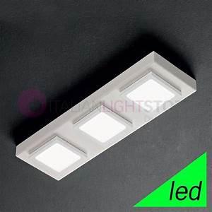 Luminaire Led Plafond : plafonniers led luminaire de plafond vente on ligne ~ Edinachiropracticcenter.com Idées de Décoration