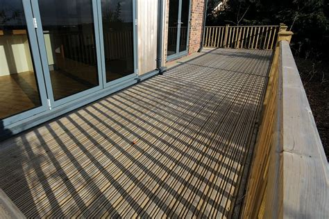 Non Slip Composite Decking Boards