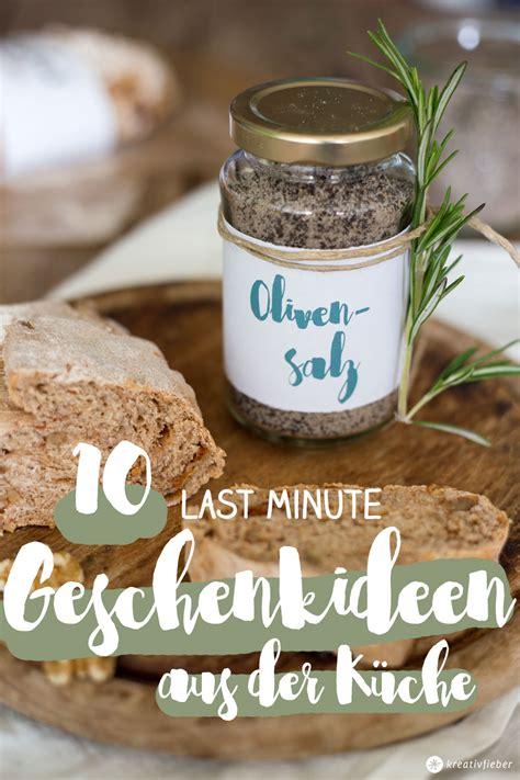 10 Last Minute Geschenkideen Aus Der Küche  Weihnachten 2016