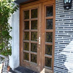renovation d39une porte d39entree With capitonner une porte d entree