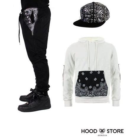 Outfit of the day! Bandana Jogger / Bandana snapback / Bandana hoodie. Order now  www ...