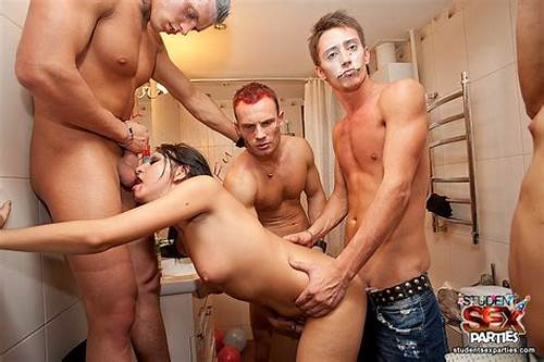 Crazy College Apartment Mff #Group #Fuck #With #Sexy #Young #Girls