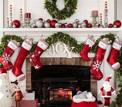 christmas mantle decorations ideas  pinterest