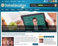 onlineeducation blogger template blogger templates