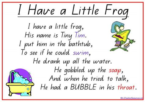 frog poems