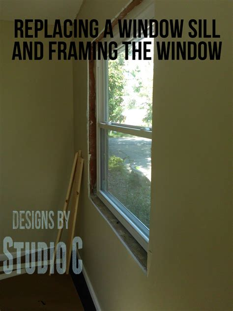 How To Make A Window Sill by How To Make Window Sill