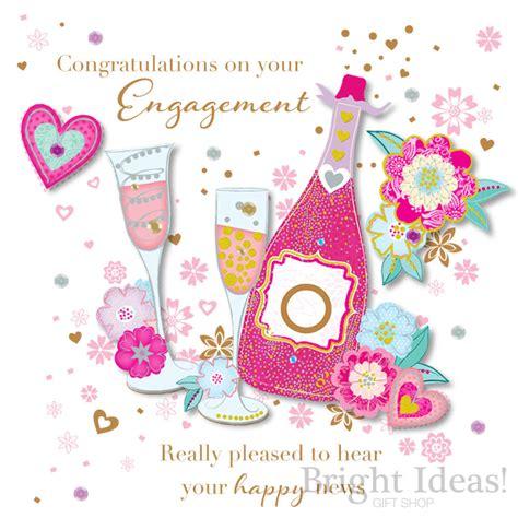 engagement card congratulations  ling design sde
