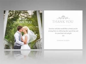creative wedding thank you cards larissanaestradacom With wedding thank you card message ideas