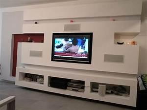 Tv Wand Bauen Anleitung : tv wand bauen ~ Articles-book.com Haus und Dekorationen