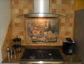kitchen with mosaic backsplash mosaic kitchen backsplash tile mural creative arts