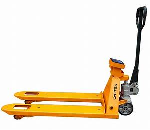 Heavy Duty Manual Smart Scale Pallet Jack