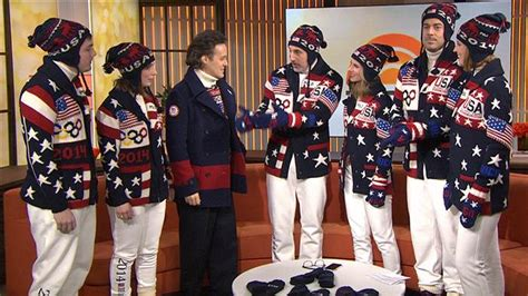 Patriotic style Team USA reveals Olympic Opening Ceremony uniforms - TODAY.com
