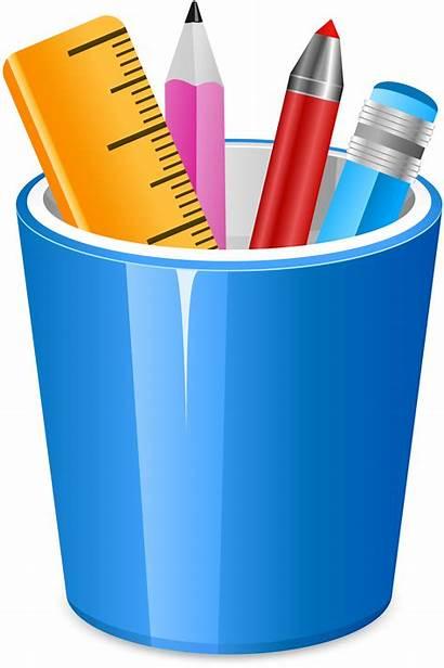 Clipart Pencil Clip Stifte Jar Pot Transparent