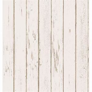 Brewster Weathered Plank Wallpaper