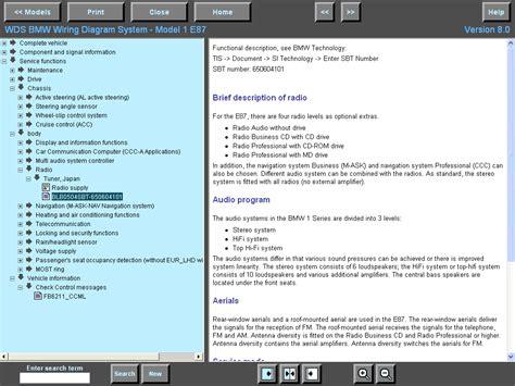 BMW Wiring Diagram System (WDS)