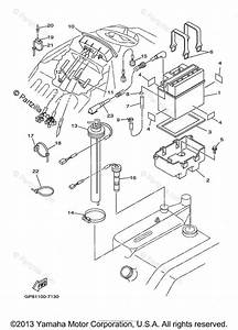 Yamaha Waverunner 1998 Oem Parts Diagram For Electrical