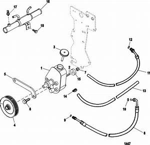 Mercruiser 5 0l Mpi Alpha    Bravo Power Steering