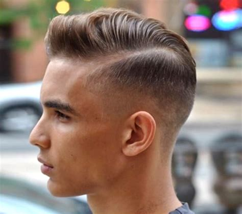 Side Part with Fade Haircuts for Men