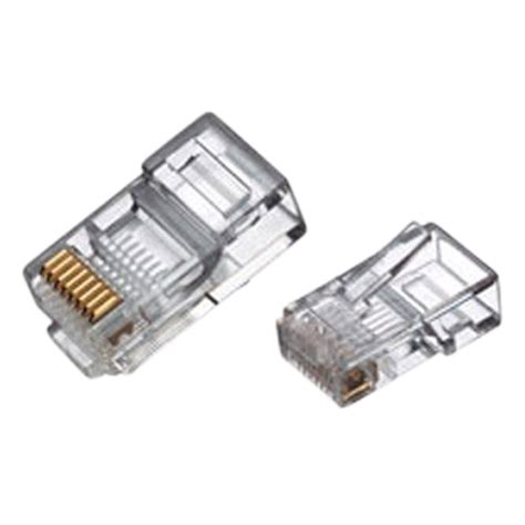 New Connector Network Cable Cat Crimp Ends Plug