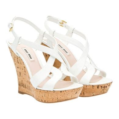 wedding wedges shoes white sandal wedges for summer 1216