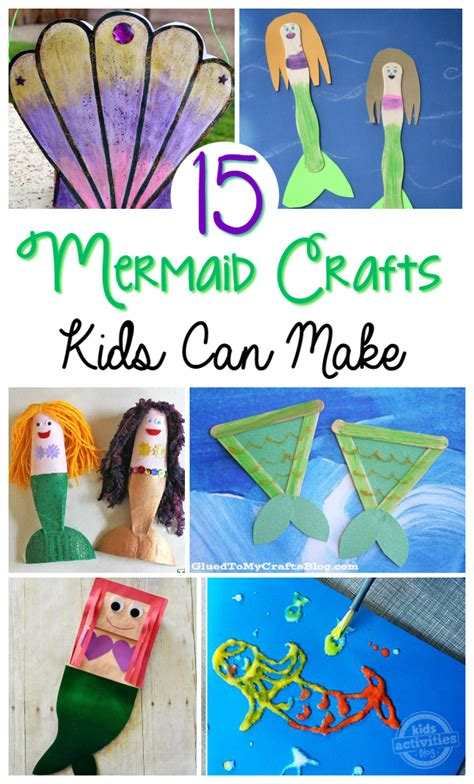 kid craft ideas 15 mermaid crafts 4791