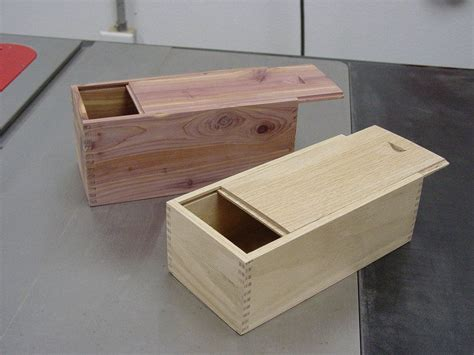 box jointed boxes  sliding lids snazzy woodworking