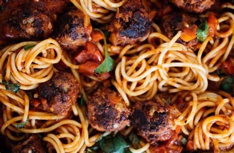 spaghetti polpetto aka vegane fleischbaellchen