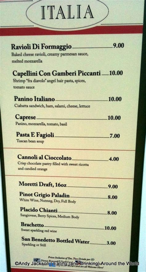 italian cuisine menu list a list of italian food cooking wise from all world