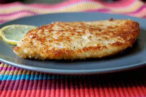 cuisiner une escalope de dinde escalope de dinde panée et citronnée d aimée le de