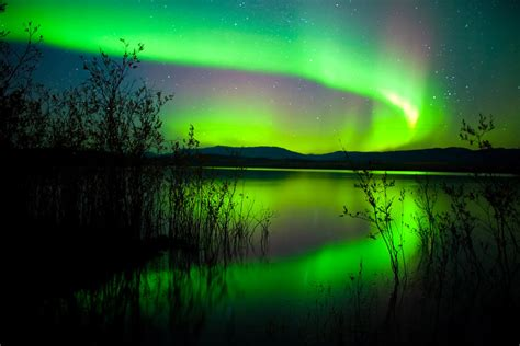 Photos Of Northern Lights Cabins And Yukon Wilderness