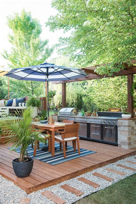 outdoor kitchen designs diy an amazing diy outdoor kitchen a simple way to add style 3847