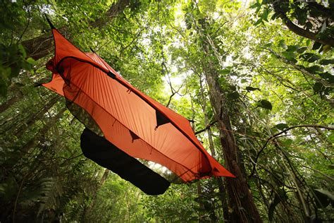 Hanging A Hammock From A Tree by Airborn The 7 Best Suspended Tree Tents Hiconsumption