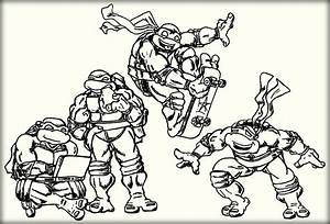 Top 10 Ninja Turtles Coloring Pages For Kids Color Zini