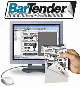 Seagull scientific btp pro bartender label rfid software for Bartender label maker
