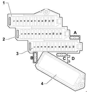Fuse Box In Audi Q7 by Audi Q7 2005 2015 Fuse Box Diagram Auto Genius