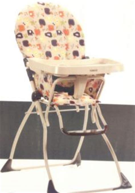 Cosco Flat Fold High Chair Fruity Jungle by Vintage Cosco Metal Chrome High Chair Stool W Vinyl