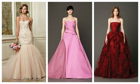 Wedding Dresses In Every Color Of