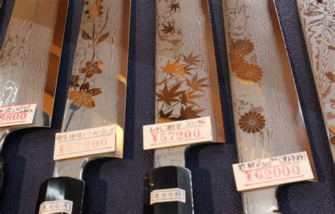 best kitchen knives 100 kappabashi home of japanese knives all about