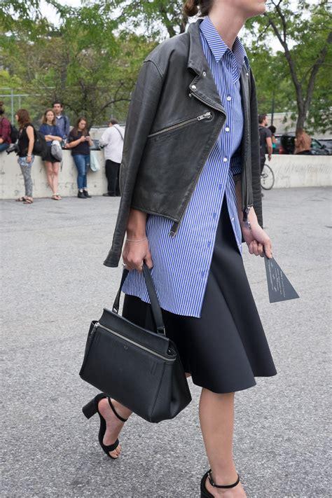 bags   york fashion week spring  street style day  purseblog