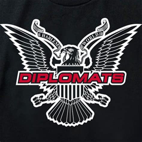 diplomats black official diplomats logo mens  shirt